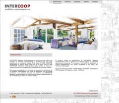P�gina web intercoop mobiliario contempor�neo (presentaci�n)