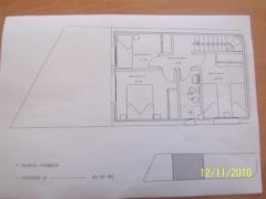 Plano planta primera ch, pareado