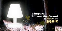 Lámpara de diseño fatboy para exterior.  www.espaiflyshop.es