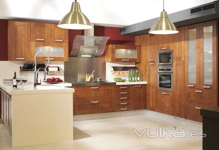 Foto muebles de cocina yelarsan modelo loyola for Modelos de muebles de cocina fotos