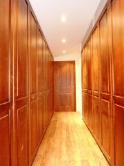 Frontal de armario abatible madera