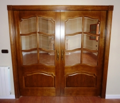 Puertas dobles de salon correderas