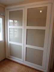Frontal de armario corredera lacado