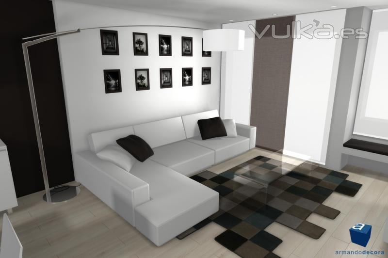 Foto dise o vivienda estudio valencia 2010 - Diseno de interiores valencia ...