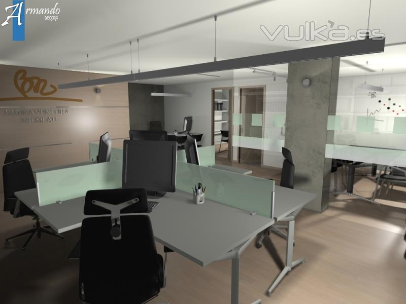 Foto dise o despacho abogados valencia 2010 for Diseno de despachos