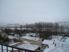 Imón con nieve dic. 2010 visto desde paris