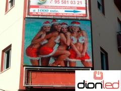 Pantalla publicitaria apertura frontal dionled - 300x230 cm p16 (los palacios-sevilla)