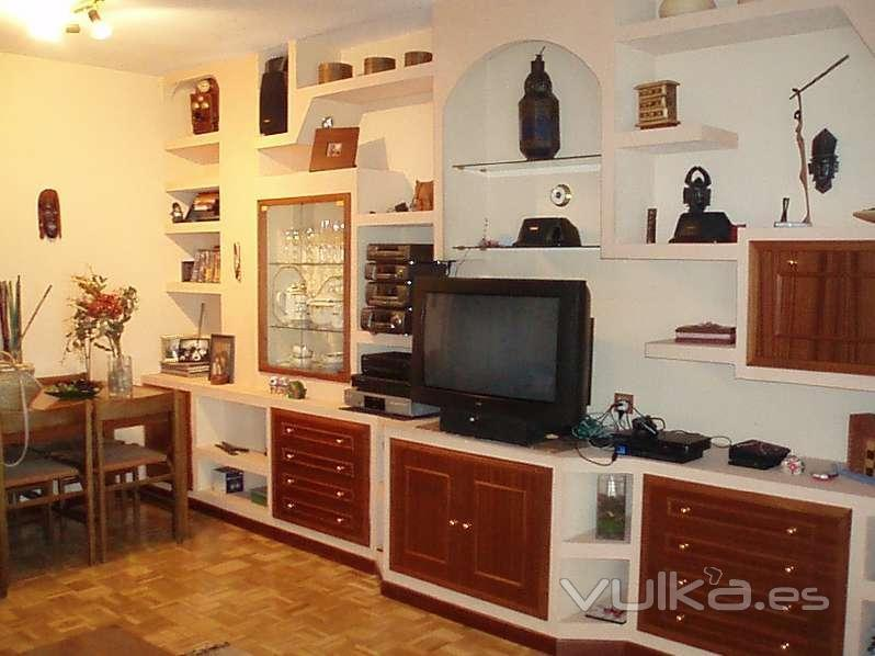 Foto muebles escayola pladur prefabricados raos for Muebles pladur