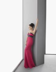 muy elegante en rojo/negro