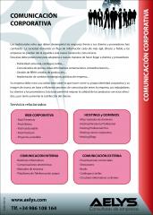 AELYS - Servicios de Comunicación corporativa