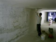 Proyecci�n de Suber Tres en los s�tanos del Ministerio del exterior de Italia - en fase de proyecci�