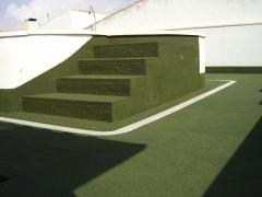 Proyecci�n de SuberTres en terrazas como terminaci�n y antideslizantes