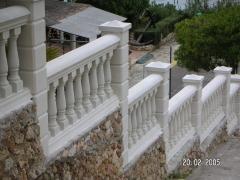 Balaustradas y columnas