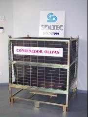 Contenedor para transporte de olivas