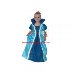 Disfraz de princesa azul para las más peques