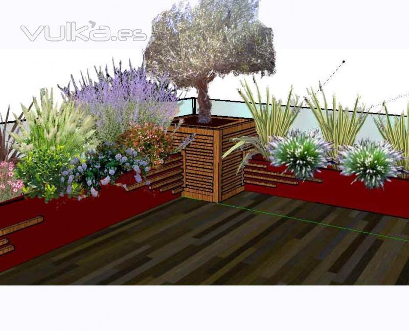 dise�o de jardins y terrazas