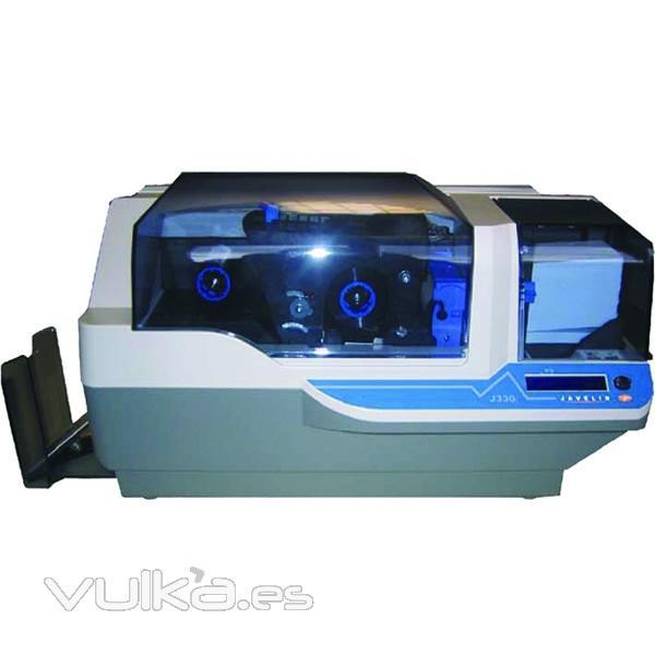 Impresora de Tarjetas Plásticas Javelin J-330 //