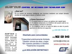 GUARDUS Abra Garaje o Portal con llamada Perdida Telefono Movil, +seguridad, +economico que mandos