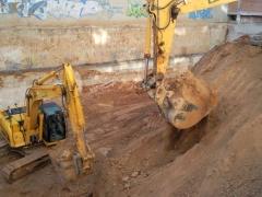 Excavacion de un aparcamiento de 3 alturas