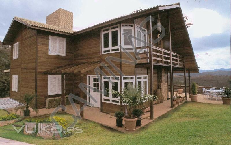 Casas de madera caminas - Casas prefabricadas cuenca ...