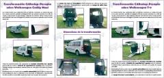 Transformaciones de cajeados sobre volkswagen