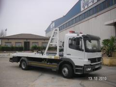 Fabricacion de gruas para transporte de 2 vehiculos