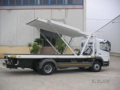 Fabricacion de gruas para transporte de 2 vehiculos 2