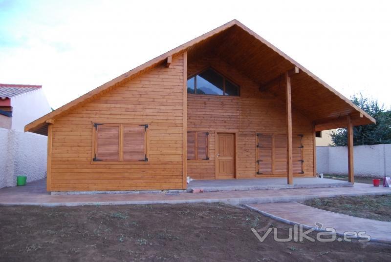 Foto exterior casa entramado ligero - Casas entramado ligero ...