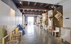 Rehabilitación y ampliación de planta baja para oficinas en ruzafa, valencia.