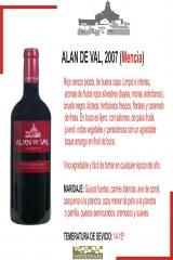 Alan de val tinto menc�a 2007