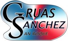 Logotipo de Gruas Sanchez
