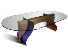 Mesa de comedor loira 250x150x73 - acero corten