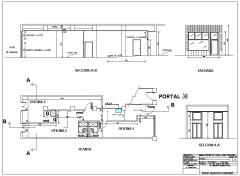 Proyecto de tres oficinas en pasaia