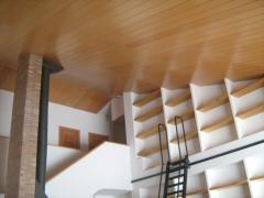Panelado de techo en haya