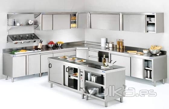 foto mobiliario profesional de cocina