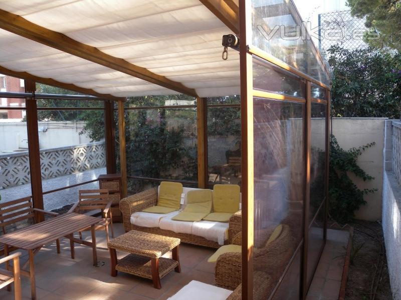 Foto disfruta tambien en invierno de tu jardin for Jardines de invierno cerramientos