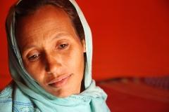 Mujer saharaui