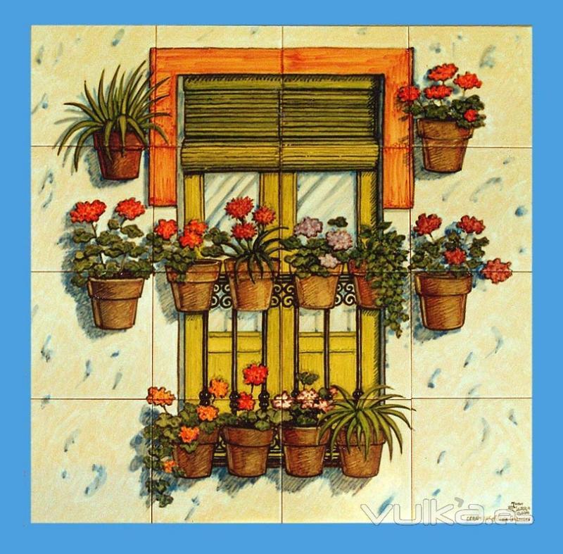 Azulejos y murales de cer mica for Azulejos de ceramica