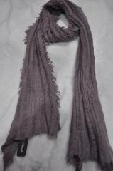 Bufanda de lana y mohair