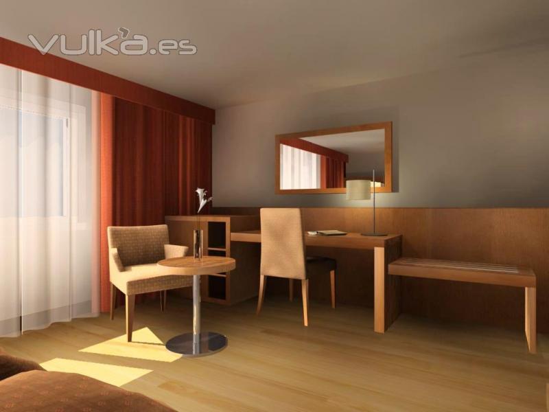 Foto prototipo habitacion hotel for Hotel design genes