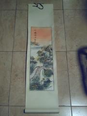 Pintura china en papel de arroz