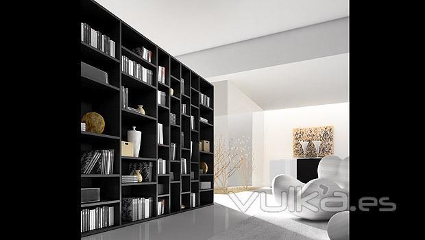 Foto estanteria para libros - Muebles para libros modernos ...