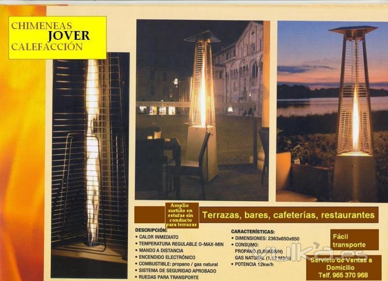 Foto estufas para terrazas - Estufas electricas para terrazas ...
