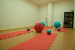 Sala de pilates y yoga