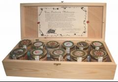 Caja madera surtida