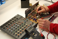 Servicios de reparacion electronica