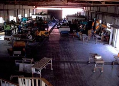 Vista interior de la fábrica