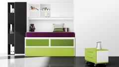 Muebles juveniles con cama compacto