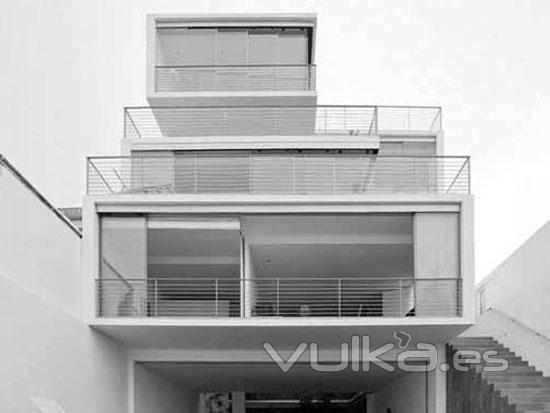 Foto casas con estructura de acero galvanizado o casas - Imagenes de estructuras de casas ...