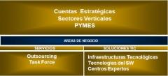 Áreas de Negocio de Via Business Solutions S.L.